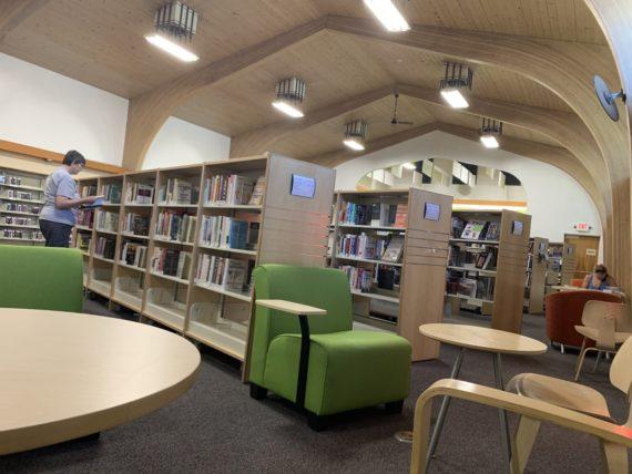 Columbia Falls, Montana public library