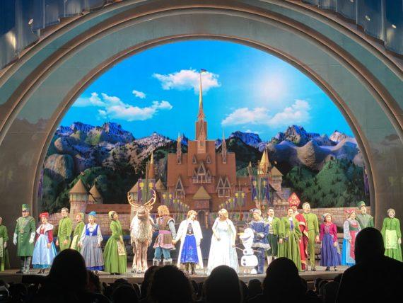 Disneyland Frozen Show