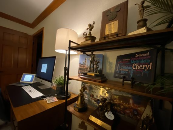 """Disney"" home office"