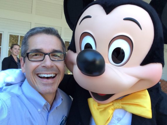 jeff noel and Mickey Mouse