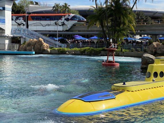 Disneyland Monorail and 20k Submarine