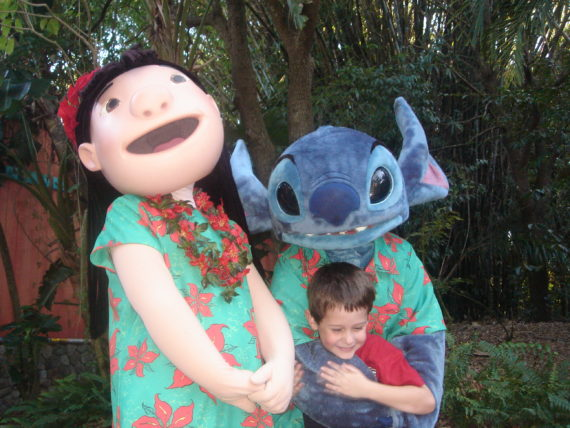 Disney Lilo and Stitch characters