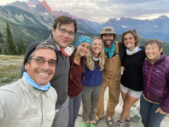 Granite Park Chalet staff 2020