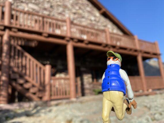 Pixar toy at Mountain Chalet