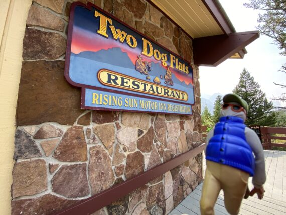 Two Dog Flats restaurant in Glacier