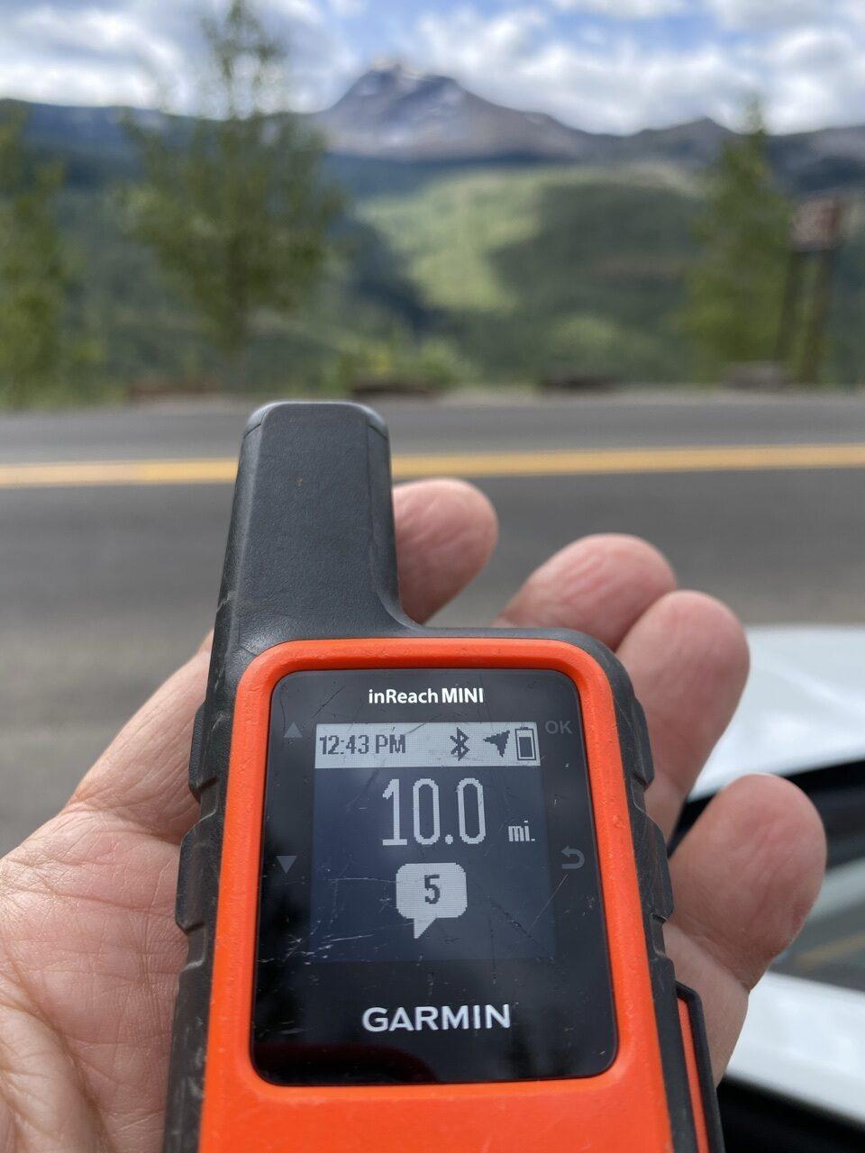 Garmin GSP tracking device