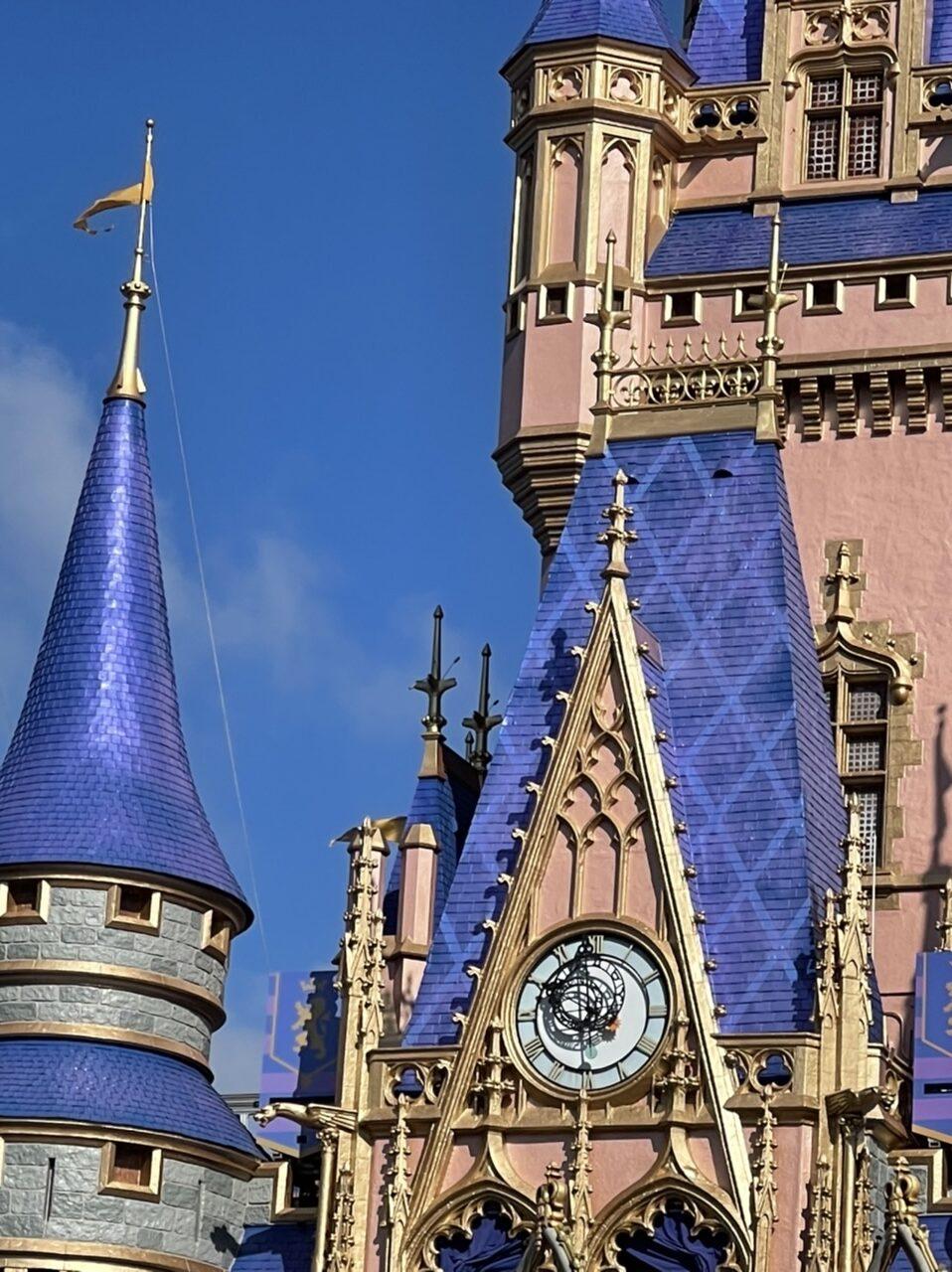 Cinderella Castle closeup