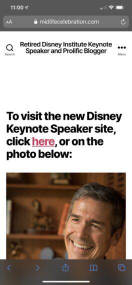 Website iPhone screen shot