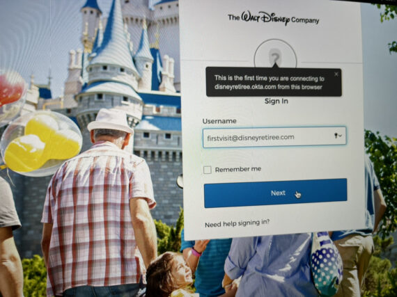 Disney retiree website login