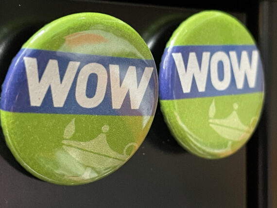 Two wow buttons