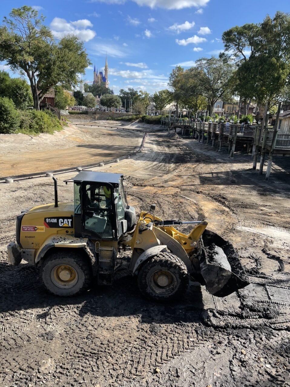 Walt Disney World's Frontierland refurbishment, December 3, 2020.