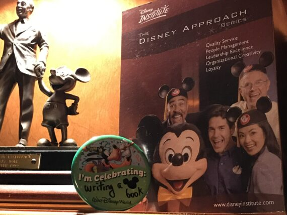 Disney Cast Member memorabilia