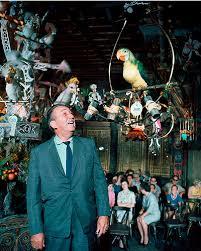 Walt Disney in the Tiki Room