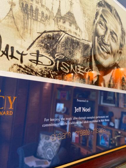 Walt Disney Legacy award