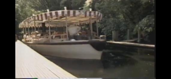 screen shot of Disney 1980's documentary