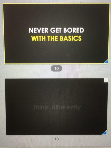 quote and tagline for Disney speaker Jeff Noel