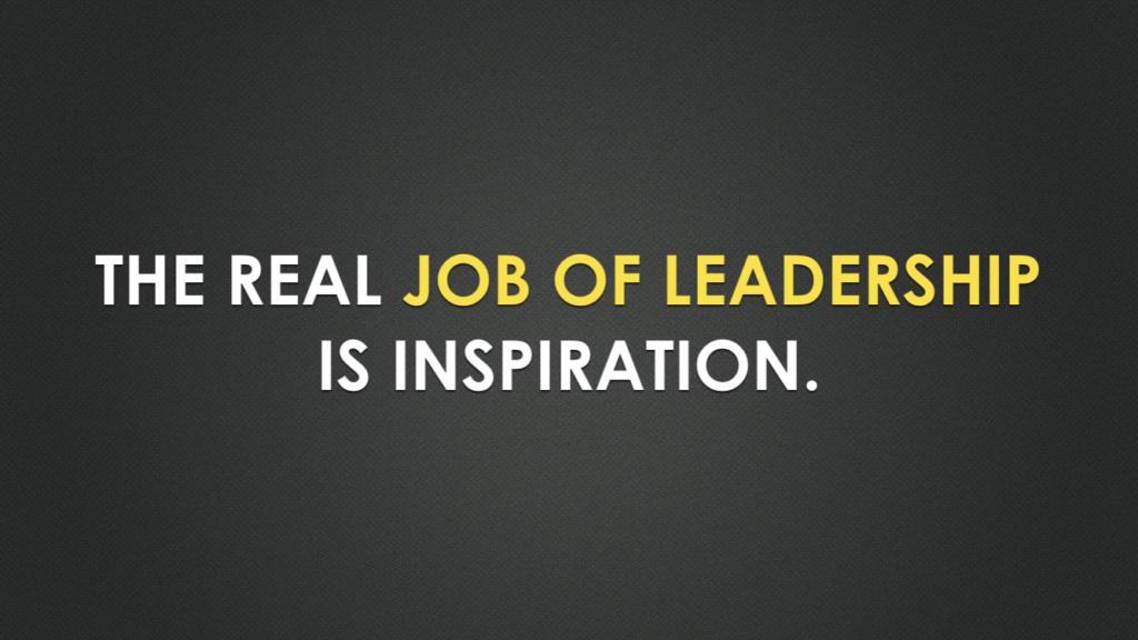 leadership goal
