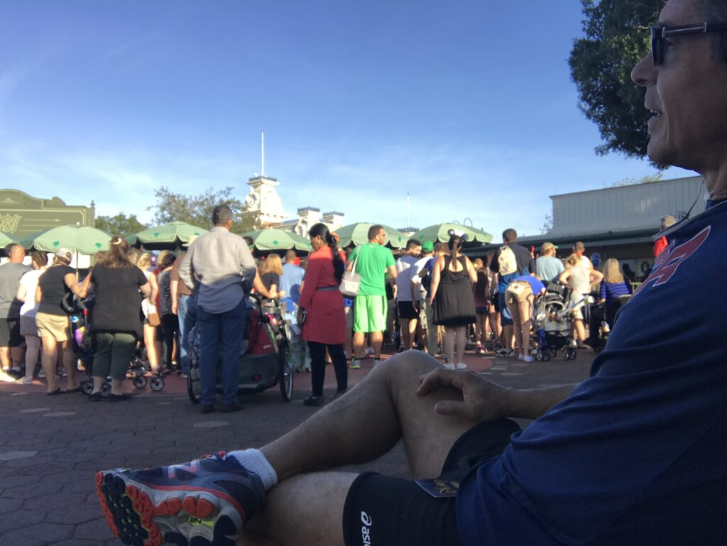Magic Kingdom morning with Disney author Jeff Noel