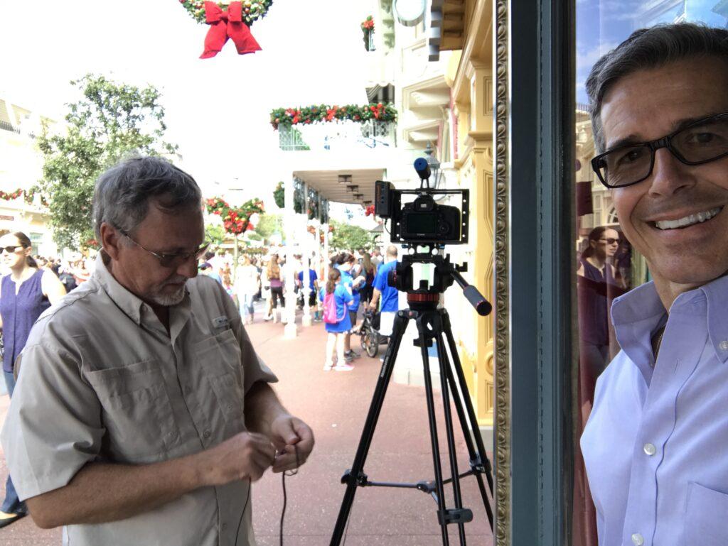 Disney Creativity and Innovation expert Jeff Noel on Main Street, USA