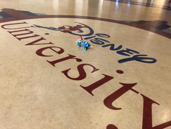 Disney University floor