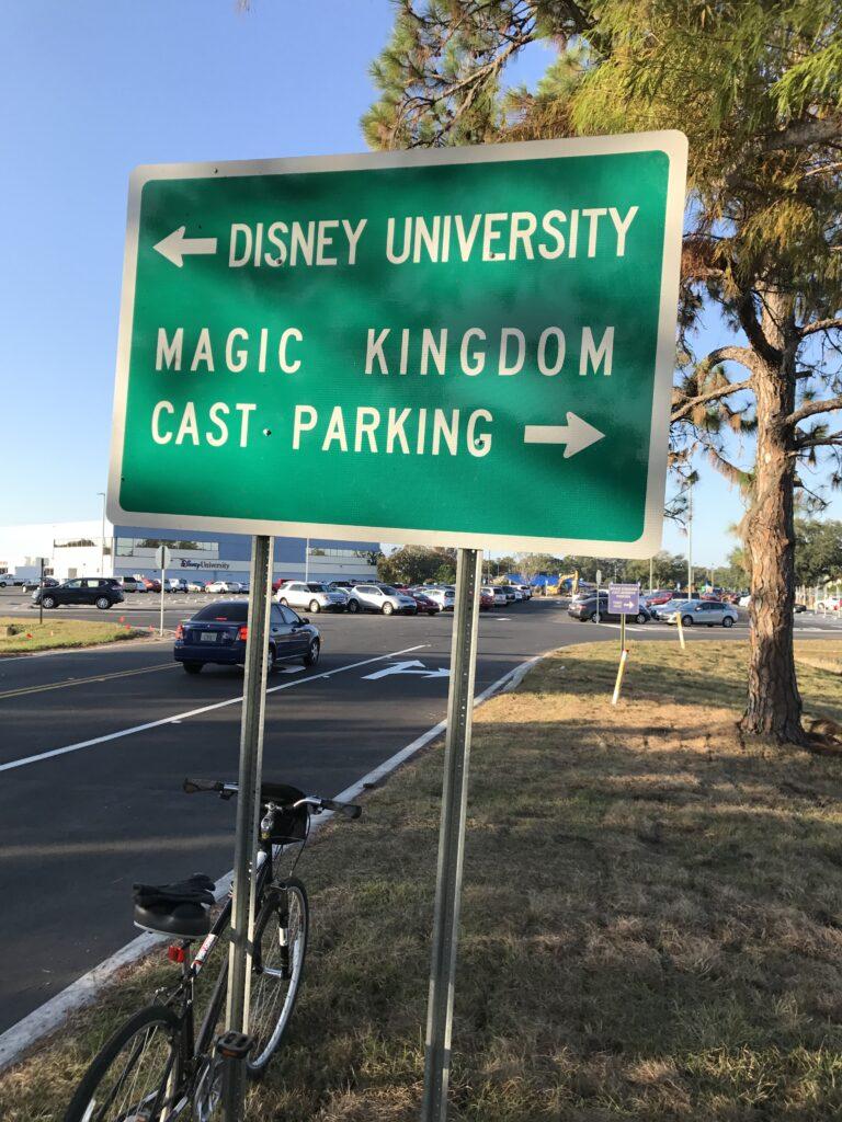 Bicycling near Disney University