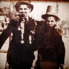 Walt Disney dressed as Abraham Lincoln
