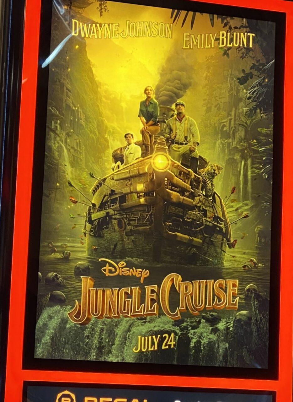 movie poster Jungle Cruise