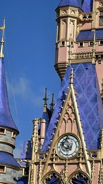 cinderella castle roof closeup
