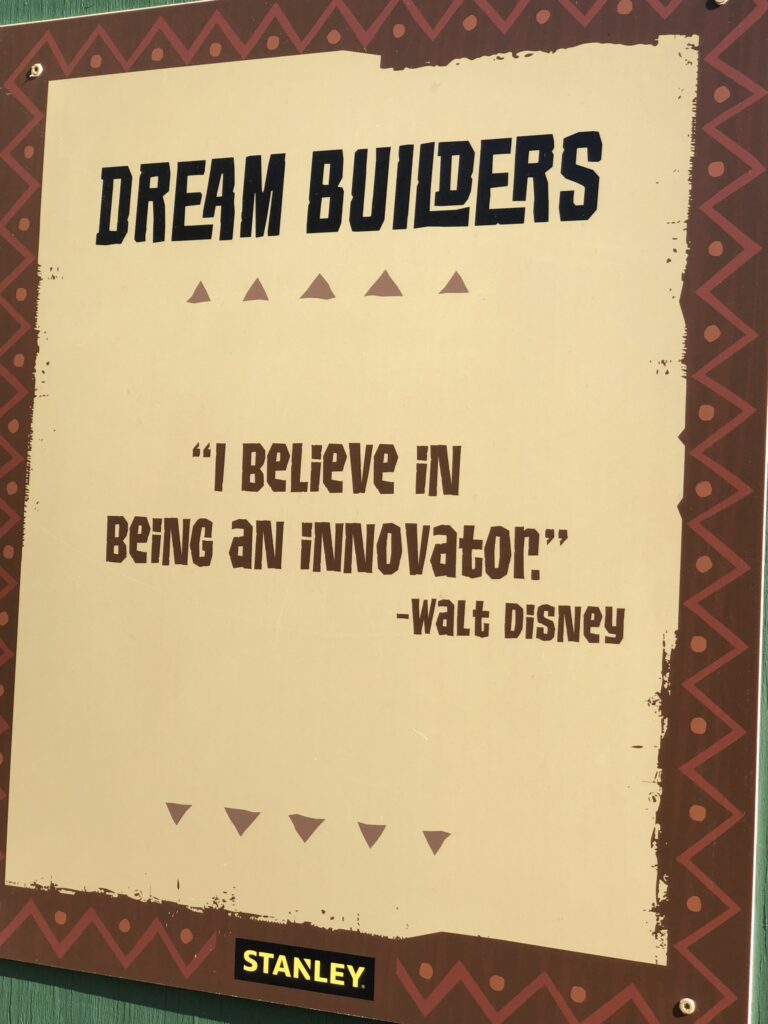 Walt Disney quote about innovation
