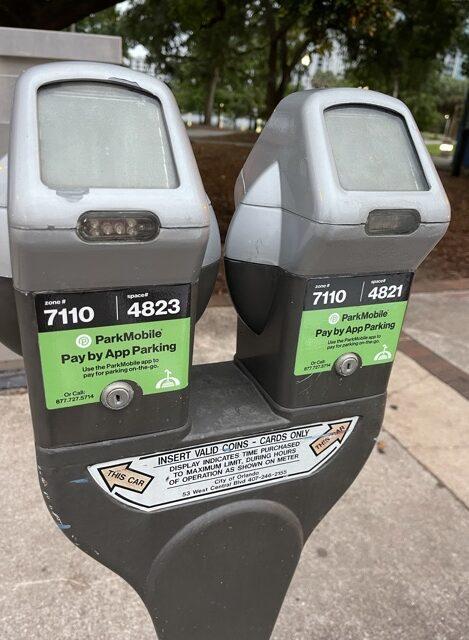 Orlando parking meter